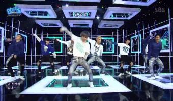 EXO se apresenta no Music Core