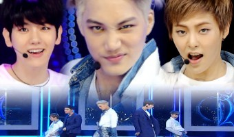 EXO se apresenta no Inkigayo