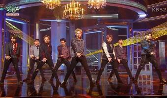 "Comeback Stage do EXO no ""Music Bank"""