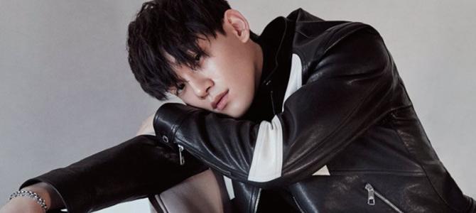 Chen na edição de março da revista Singles