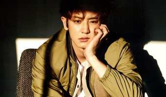 Chanyeol na edição de abril da revista L'Officiel Hommes