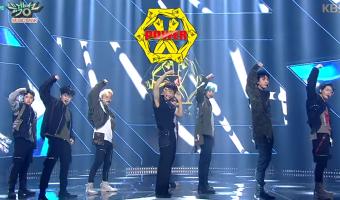 """Comeback Stage do EXO no Music Bank com """"Power"""""""