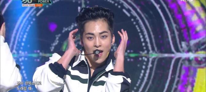 EXO se apresenta no Music Bank com Power!